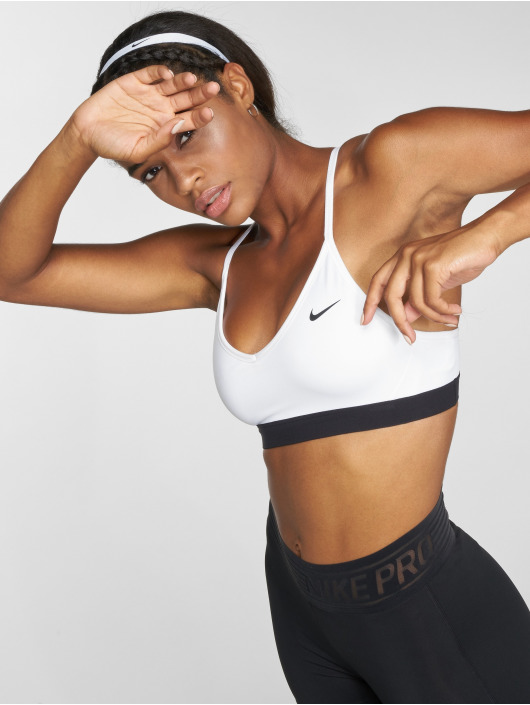 Nike Performance Sujetador desportivo Indy blanco