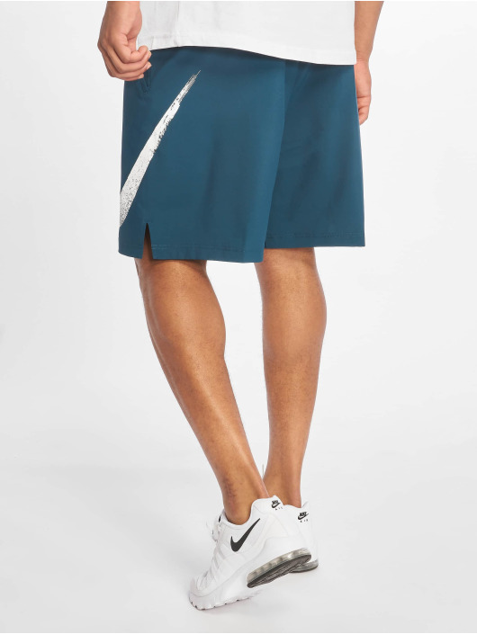 Nike Performance Szorty Flex Short Wooevn 2.0 GFX 1 turkusowy