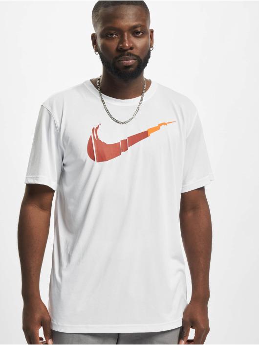 Nike Performance T-paidat Dri-Fit valkoinen