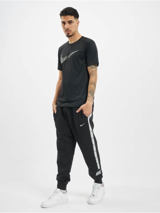Nike Performance T-Shirt Dry Tee Leg Camo Swsh black