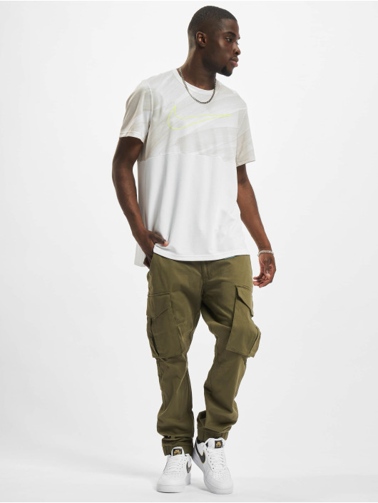 Nike Performance T-Shirt Superset Energy blanc