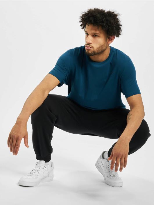 Nike Performance T-Shirt Dry Crew Solid blau