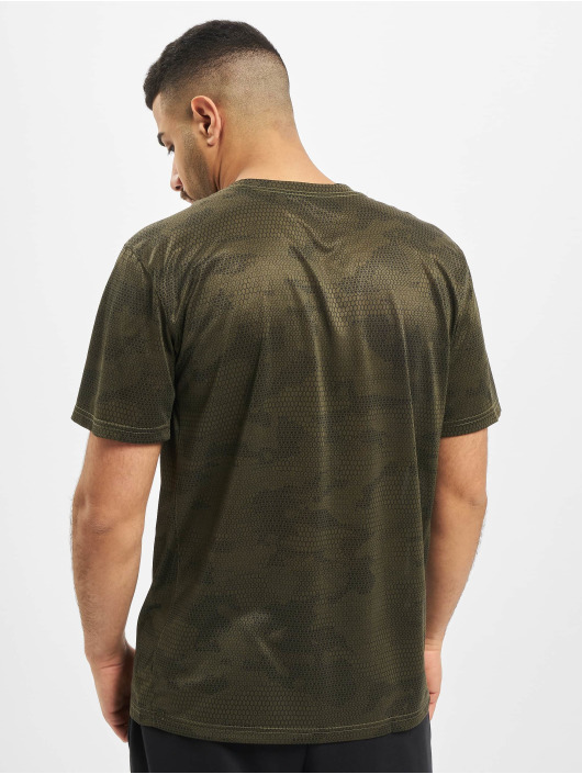 Nike Performance T-Shirt Dry Leg Camo AOP khaki