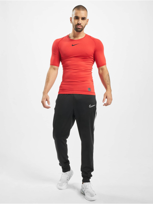 Nike Performance T-Shirt Pro Compressions rouge