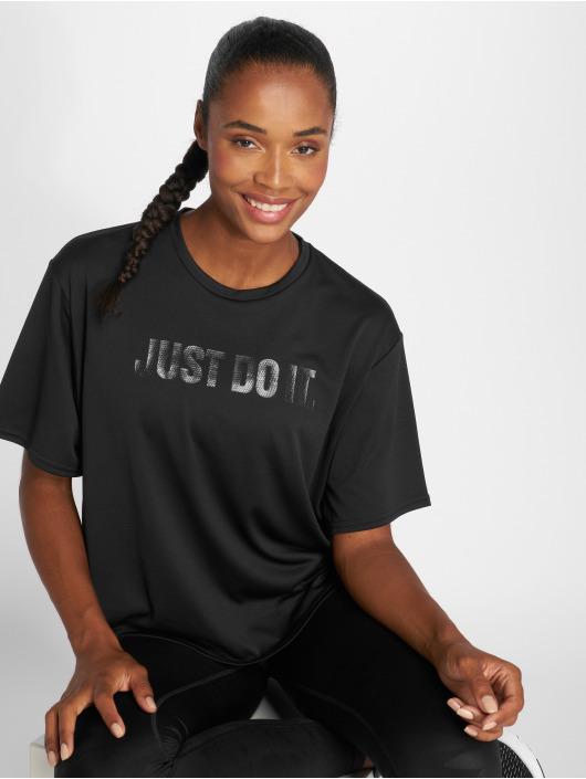 Nike Performance T-Shirt Dry schwarz