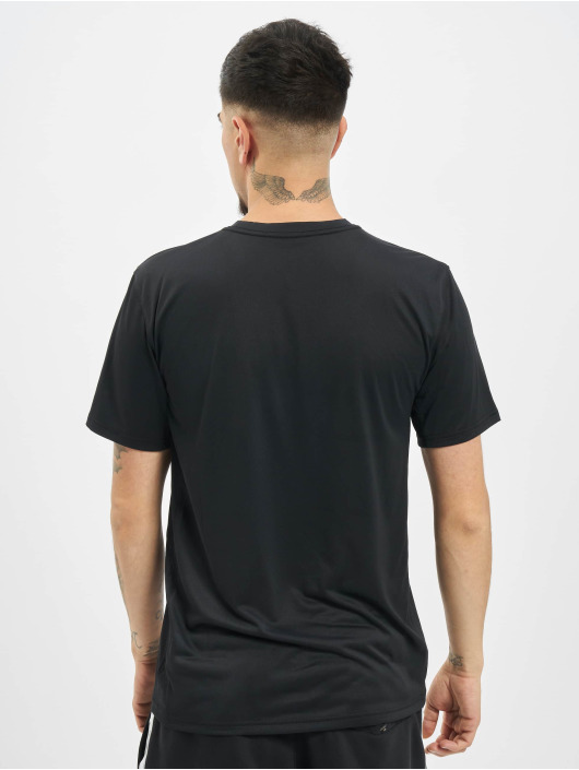 Nike Performance T-Shirt Dry Tee Leg Camo Swsh schwarz