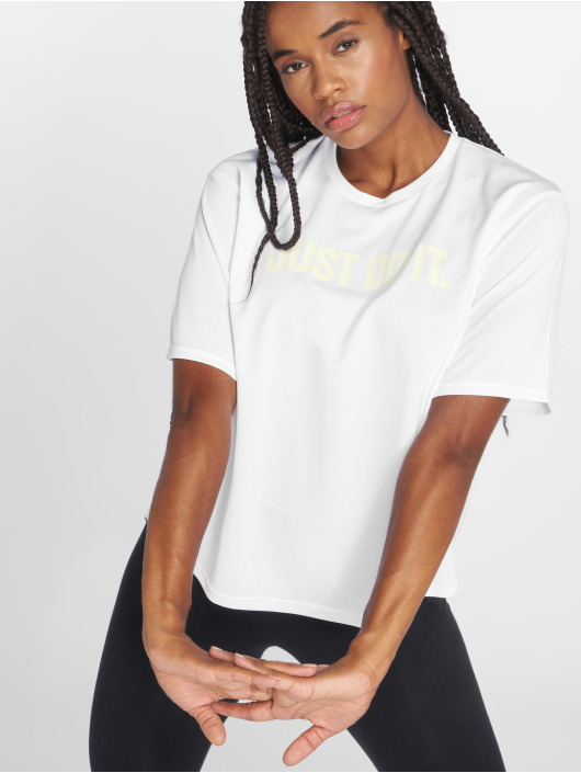 Nike Performance T-Shirt Dry weiß
