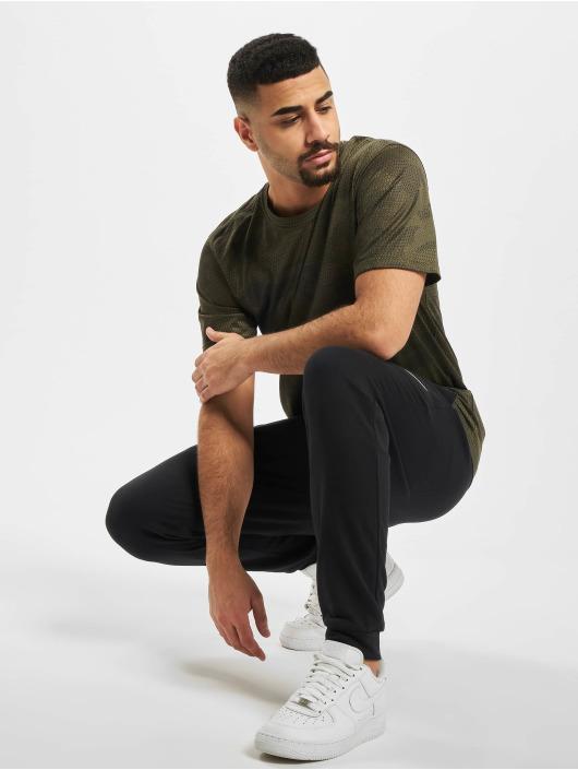 Nike Performance T-Shirty Dry Leg Camo AOP khaki