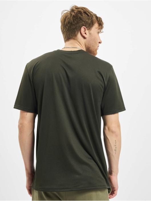 Nike Performance T-Shirty Dry Tee Leg Camo Swsh oliwkowy