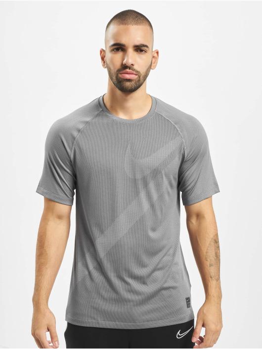 Nike Performance T-Shirty Mesh Pro szary