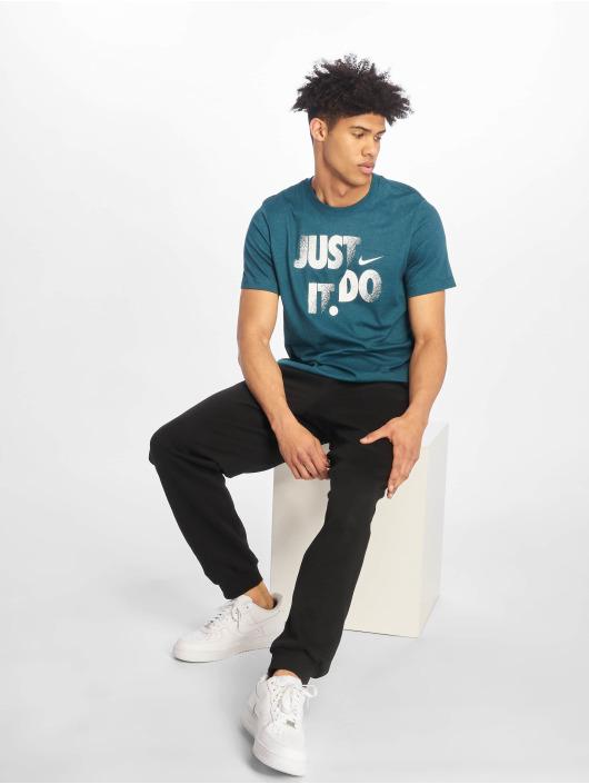 Nike Performance T-Shirty Dry DFC JDI turkusowy