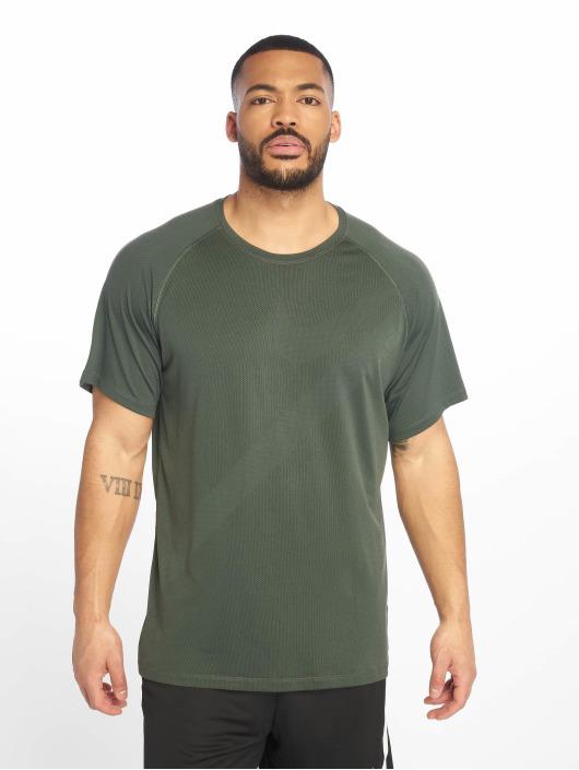 Nike Performance T-Shirty Pro zielony