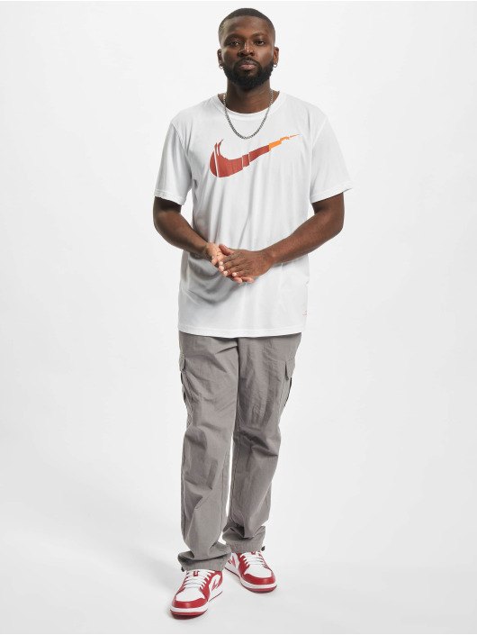 Nike Performance T-skjorter Dri-Fit hvit