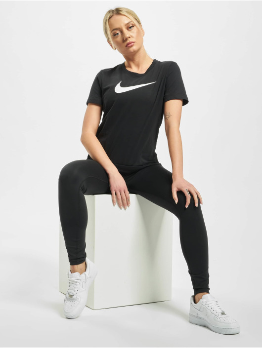 Nike Performance T-skjorter Dry Fit Crew svart