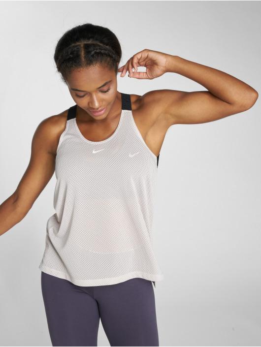 Nike Performance Tank Tops Dry béžová