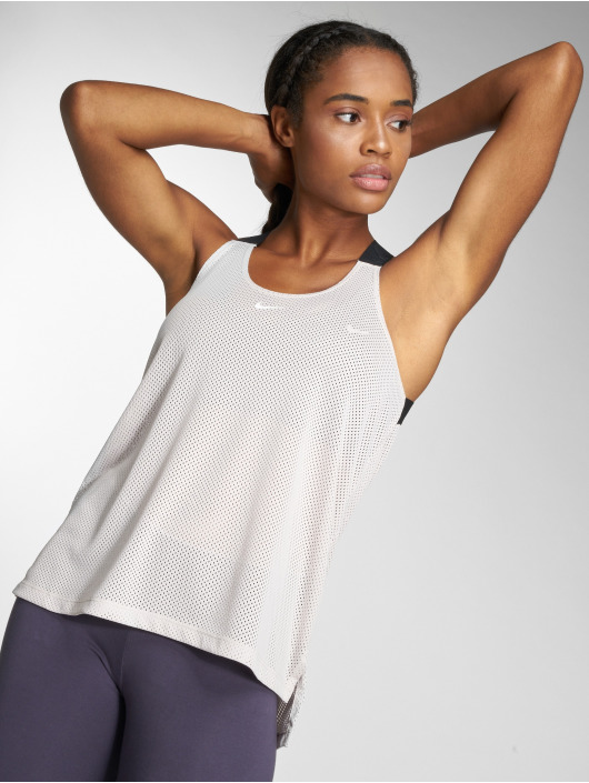 Nike Performance Tank Tops Dry béžový