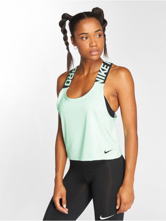 Nike Performance Tank Tops Pro vihreä