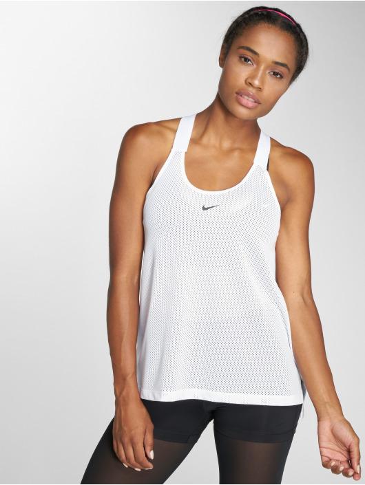 Nike Performance Tank Tops Dry white