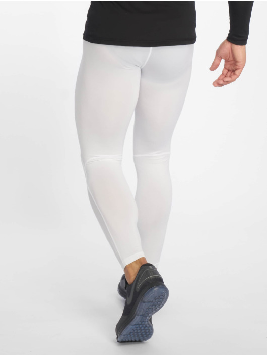 Nike Performance Tights Pro bialy