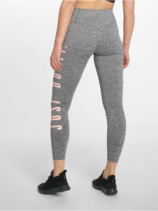 Nike Performance Tights Mid-Rise Graphic szary