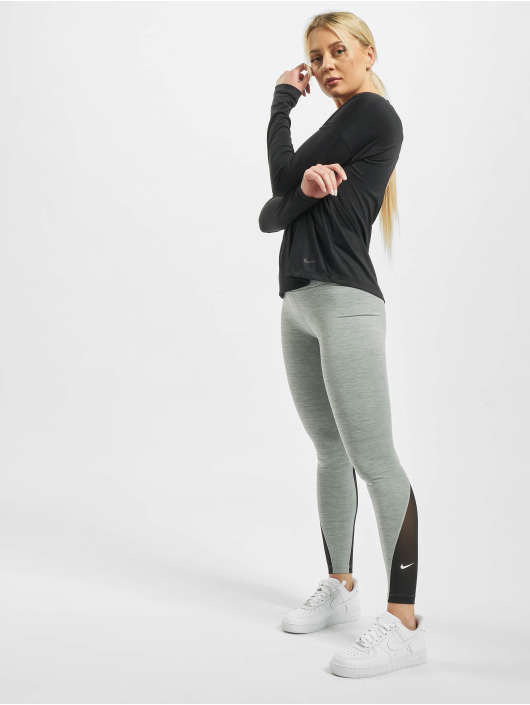 Nike Performance Top Dry Elastika Essential schwarz