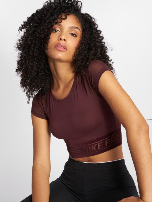 Nike Performance Top Pro Deluxe Cropped violet