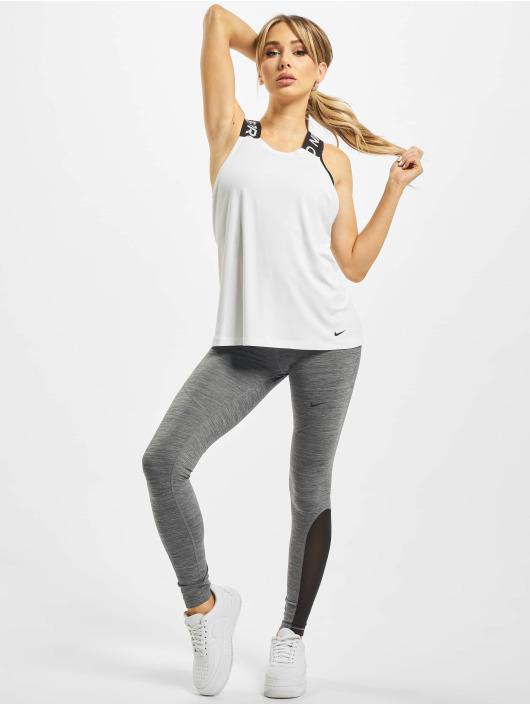 Nike Performance Top Pro Dry Elastika Essential weiß