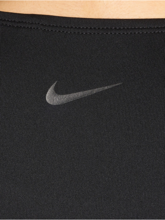 Nike Performance Tops Pro Deluxe Cropped czarny