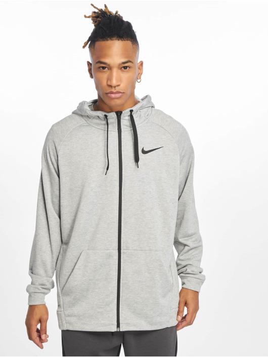 Nike Performance Trainingsjacken Dry szary
