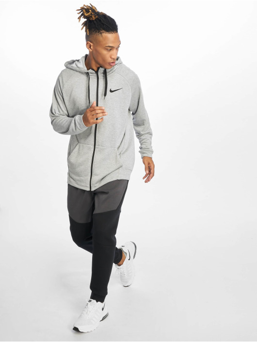 Nike Performance Trainingsjacks Dry grijs