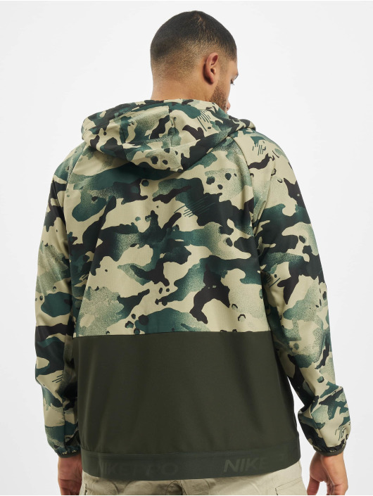 Nike Performance Transitional Jackets Flex Vintage Mix Full Zip grøn