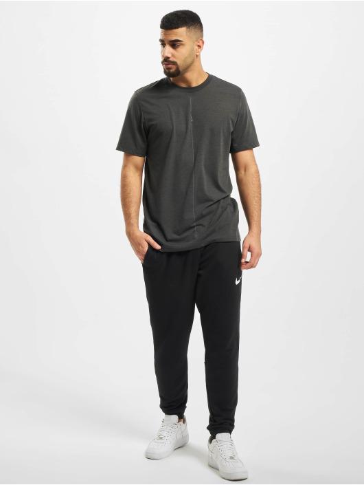 Nike Performance Tričká Dry DB Yoga èierna