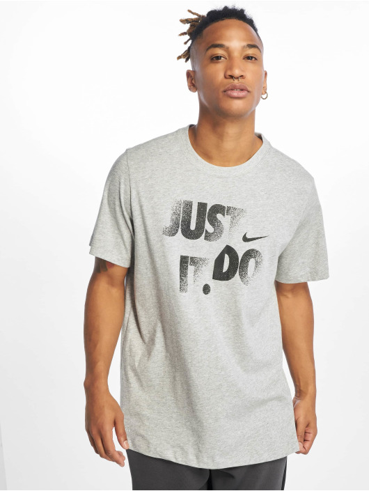 Nike Performance Tričká Dry DFC JDI šedá