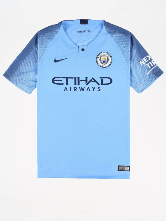Nike Performance trykot Manchester City 2018/2019 Home niebieski