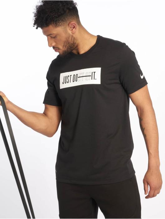 Nike Performance Urheilu T-paidat Dri-Fit musta