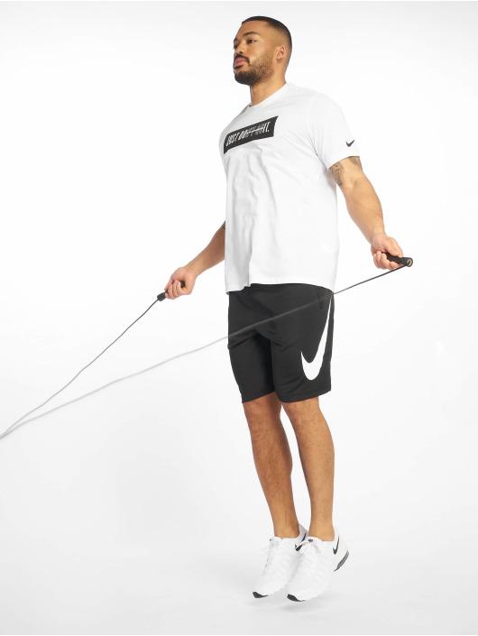 Nike Performance Urheilu T-paidat Dri-Fit valkoinen
