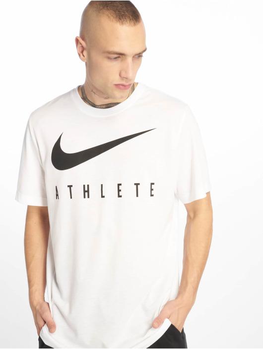 Nike Performance Urheilu T-paidat Dry DB Athlete valkoinen