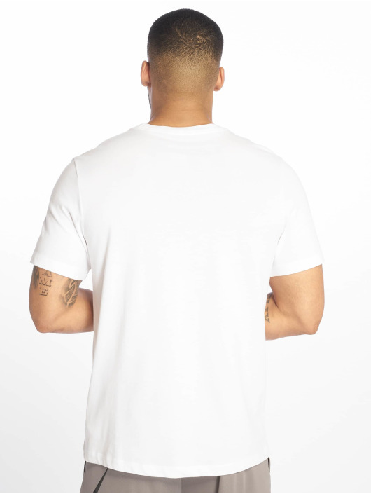 Nike Performance Urheilu T-paidat Dri-Fit Camo valkoinen