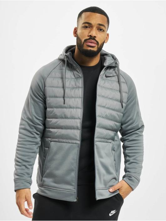 Nike Performance Veste mi-saison légère Thrma Fz Wntrzd gris