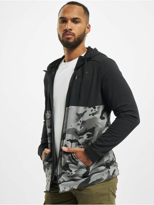 Nike Performance Vetoketjuhupparit Dry Fz Fa Camo musta