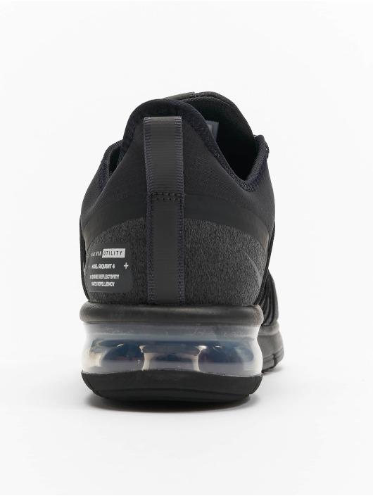 Nike Performance Zapatillas de deporte Max Sequent 4 Shield negro