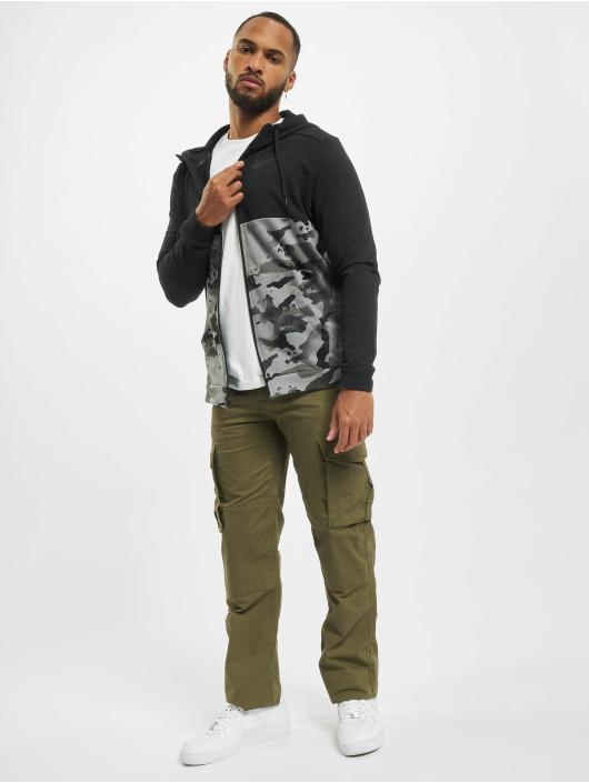 Nike Performance Zip Hoodie Dry Fz Fa Camo czarny