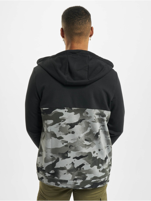 Nike Performance Zip Hoodie Dry Fz Fa Camo svart