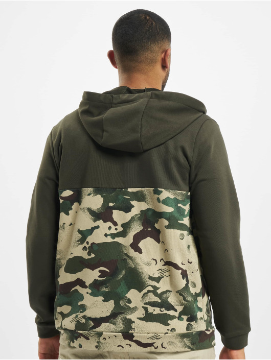 Nike Performance Zip Hoodie Dry Full Zip Camo zielony