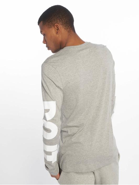 Nike Pitkähihaiset paidat Sportswear harmaa