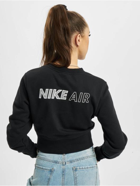 Nike Pitkähihaiset paidat Air Crew Fleece musta