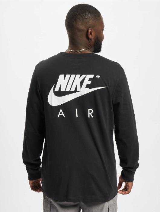 Nike Pitkähihaiset paidat Air musta