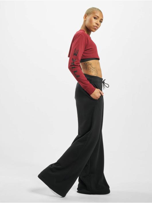 Nike Pitkähihaiset paidat LS Crop Pythn punainen