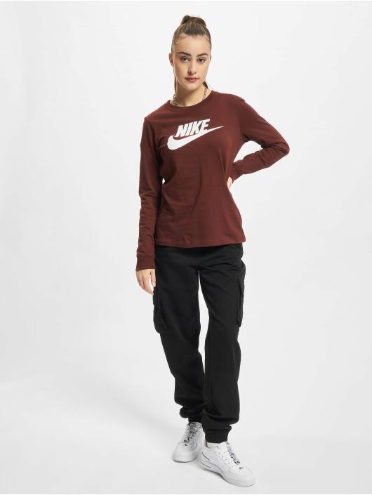 Nike Pitkähihaiset paidat NSW Icon FTR ruskea