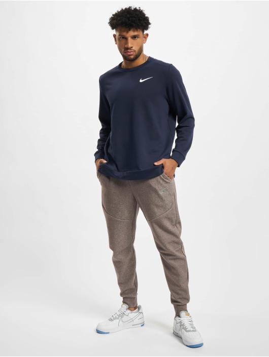 Nike Pitkähihaiset paidat Dri-Fit sininen